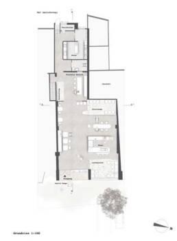 Entwurf von Emel Sancek - Grundriss