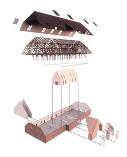 Entwurf von Mareike Blaas - Axonometrie