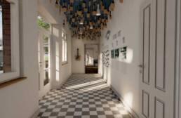 Entwurf von Julia Gronau & Niclas Thiry - Flurbereich